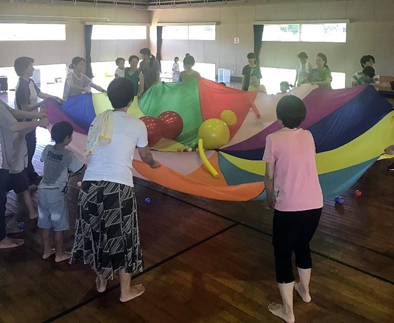 笑顔ひろがるスペシャルサポート教室mocomoco 親子体育教室