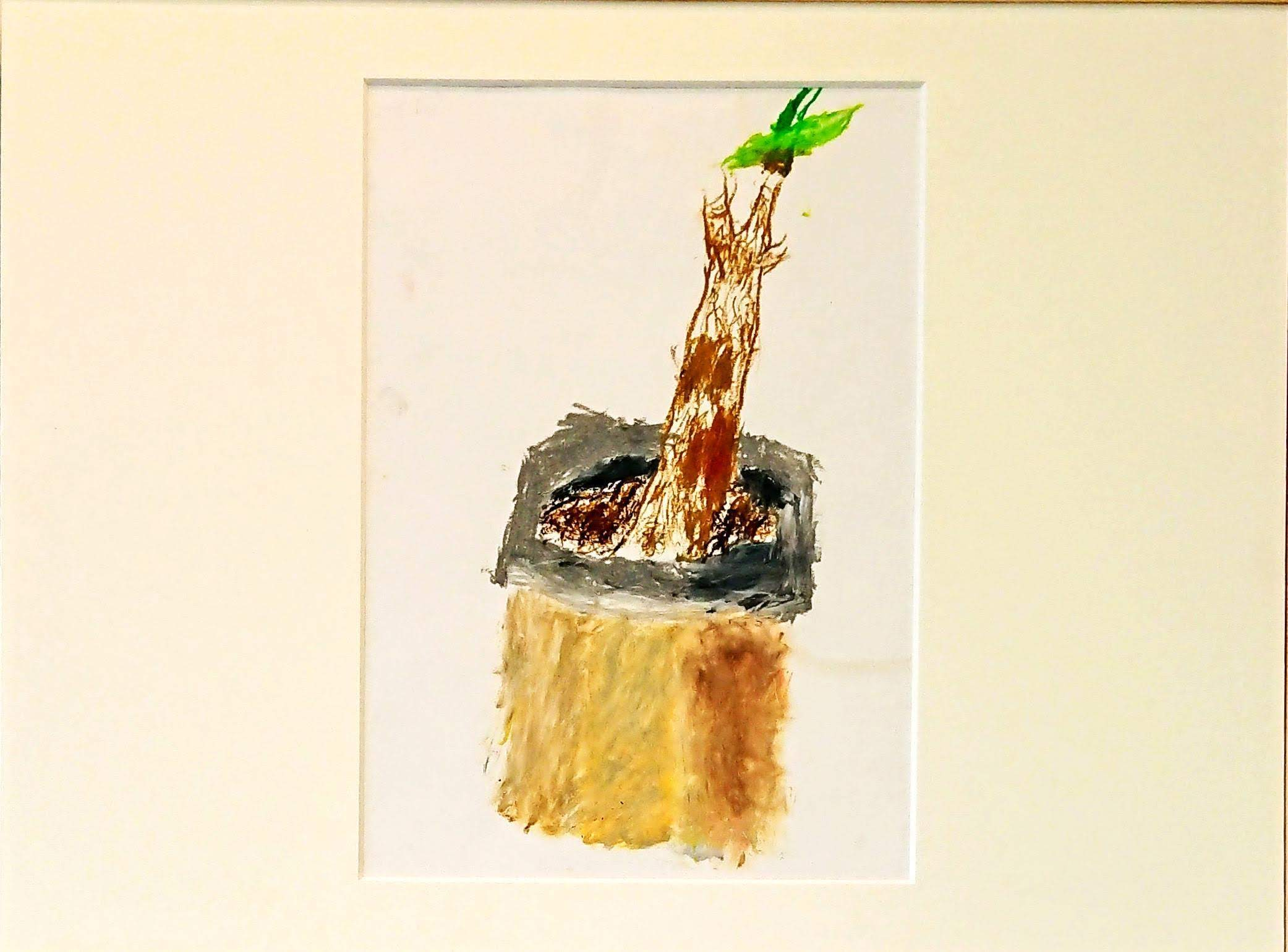 川越賢二「観葉植物」